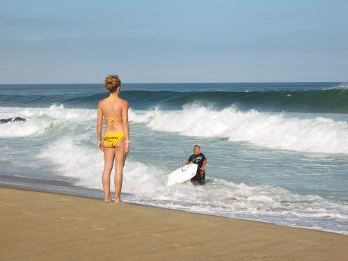 Ocean Grove Beach. PG photo. The winning caption will go here.