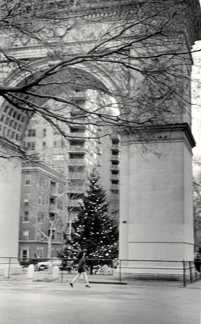 Washington Square Park. Paul Goldfinger photo © undated.