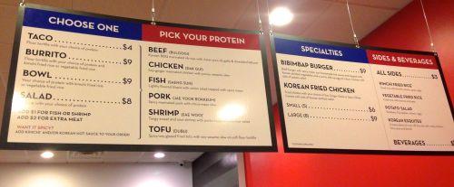 MOGO: Walk in, look up,order, sit-down, eat. ©