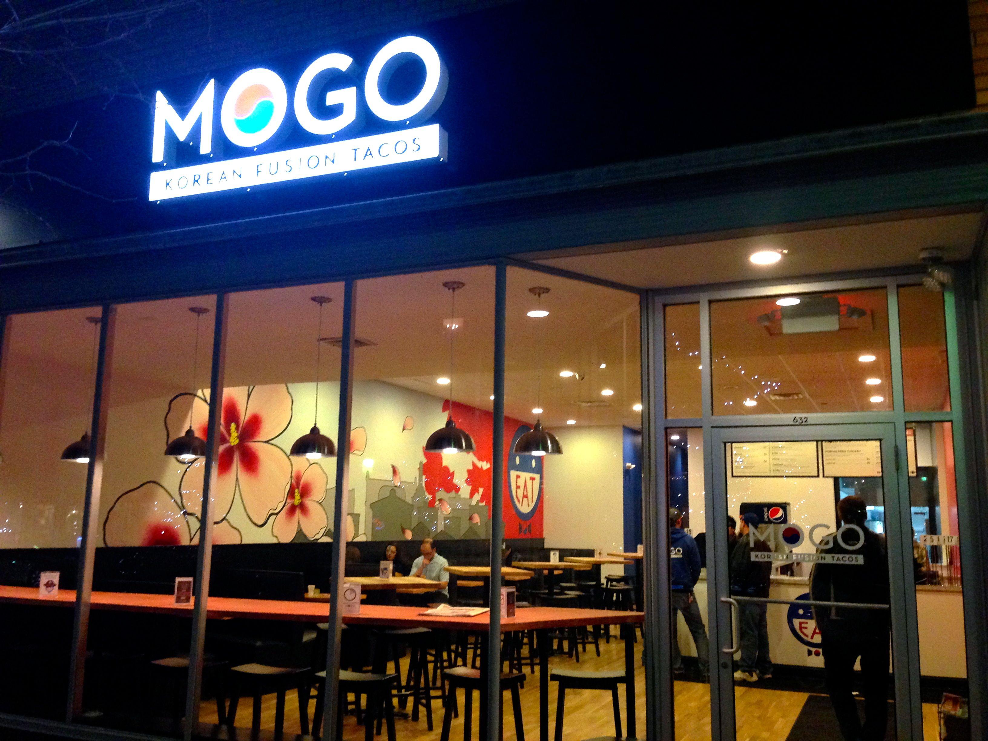 Dinner For 21900 At Mogo A Korean Fusion Fast Food Restaurant In