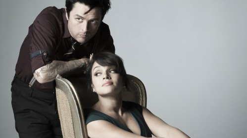 Billy Joe Armstrong and Norah Jones. Maria Chavez image via NPR