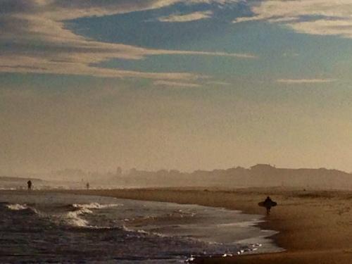 Ocean Grove beach. By Moe Demby  December 21, 2013 ©
