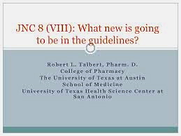 Joint National Committee 8 hypertension guidelines just announced.