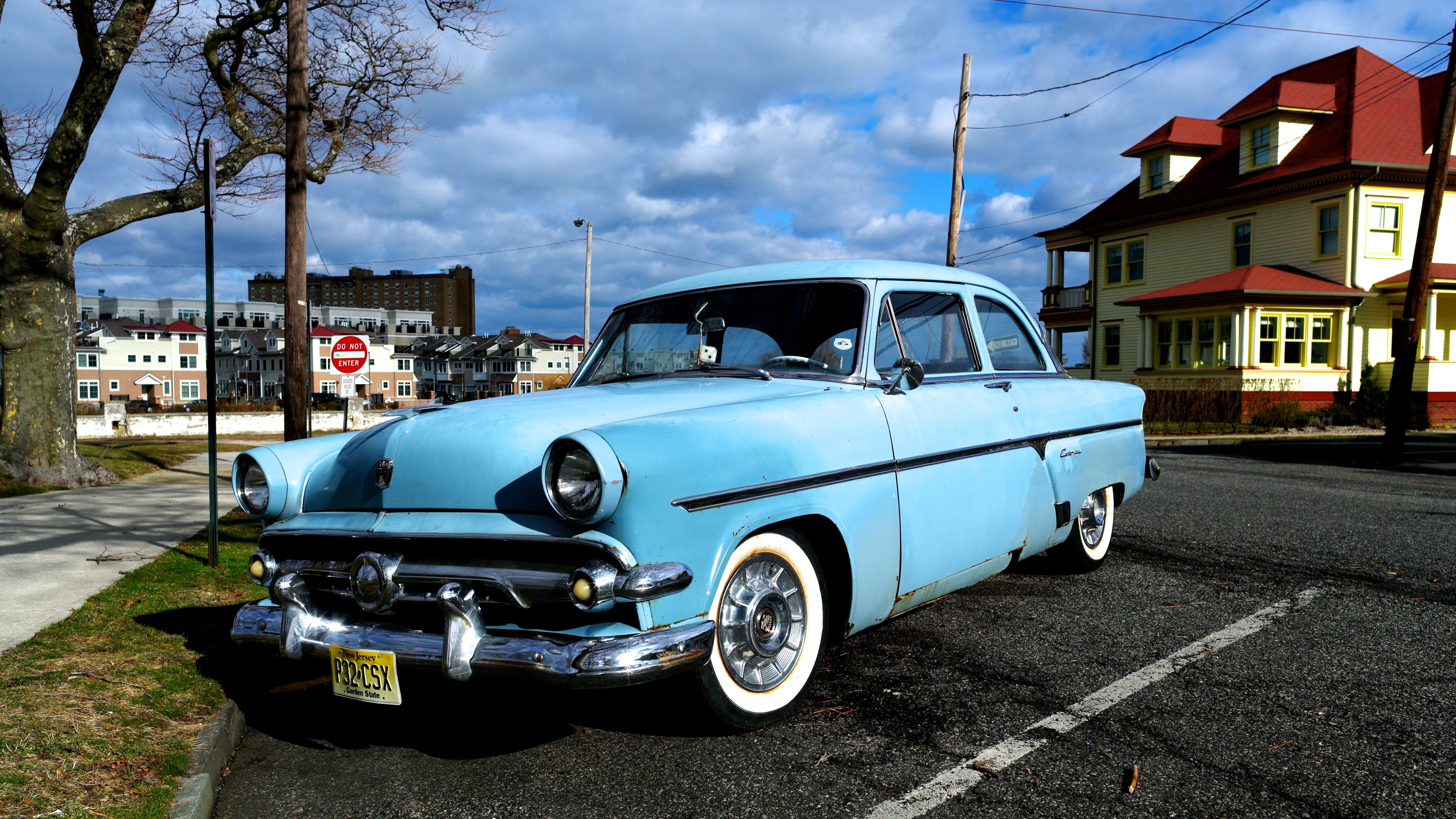 Name That Car Contest It S A 1954 Ford Customline 2 Door