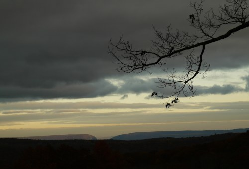View of the Delaware Water Gap from John and Jean's property. By Paul Goldfinger ©