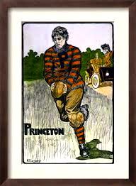 Princeton football player c. 1902.
