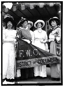 General Federation of Women's clubs 1914.  FWC web site  (PG did not take this photo!)