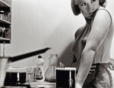 Cindy Sherman self portrait.