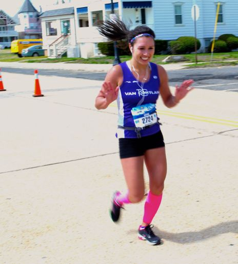 Just like the strain of a haunting refrain…..NJ Marathon in Ocean Grove 2014