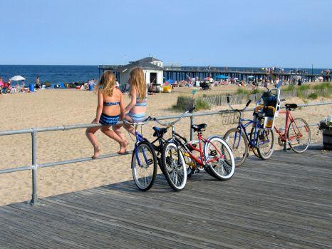 Ocean Grove boardwalk, pre-Sandy. By Paul Goldfinger ©