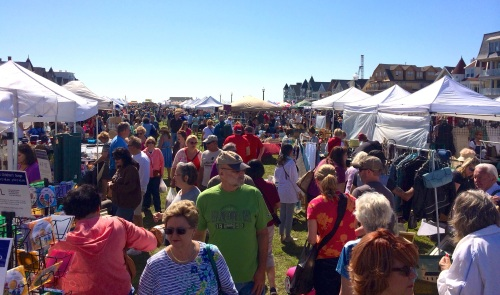 Ocean Grove Flea Market. Saturday, May 31, 2014. By Moe Demby, Blogfinger staff ©