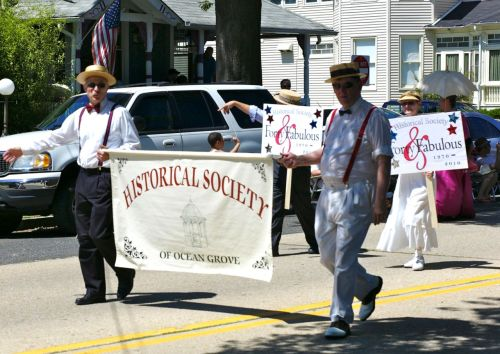 Ocean Grove July 4 parade.  Paul Goldfinger photo ©