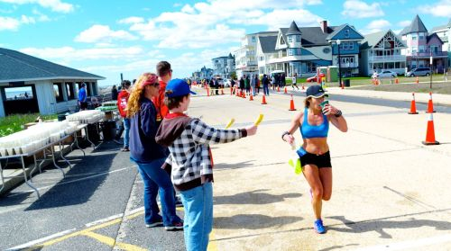 New Jersey Marathon in Ocean Grove. April 27, 2014. Paul Goldfinger photo ©