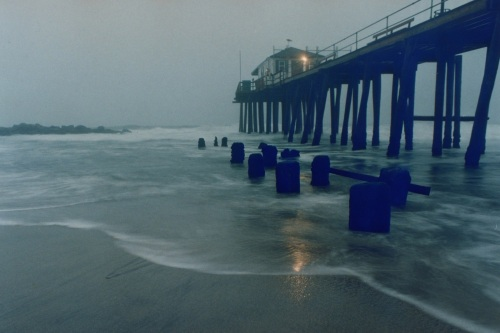 Ocean Grove Fishing Pier. Date unknown.  By Moe Demby, Blogfinger staff .©