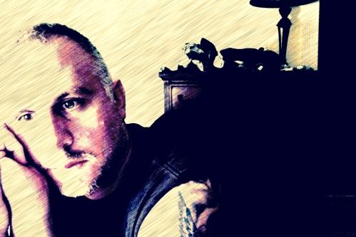Self portrait by Moe Demby, BF staff.  Digital manipulation. © 2014