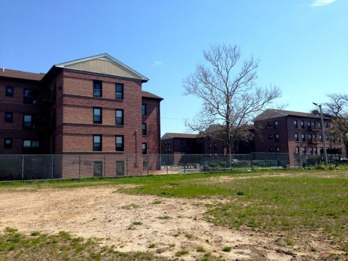 In the poorest neighborhoods of Asbury Park there are no pink ribbons.  BF photo May 2, 2014