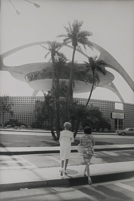 LA International Airport 1964 by Gary Winogrand.  J. Paul Getty Museum.