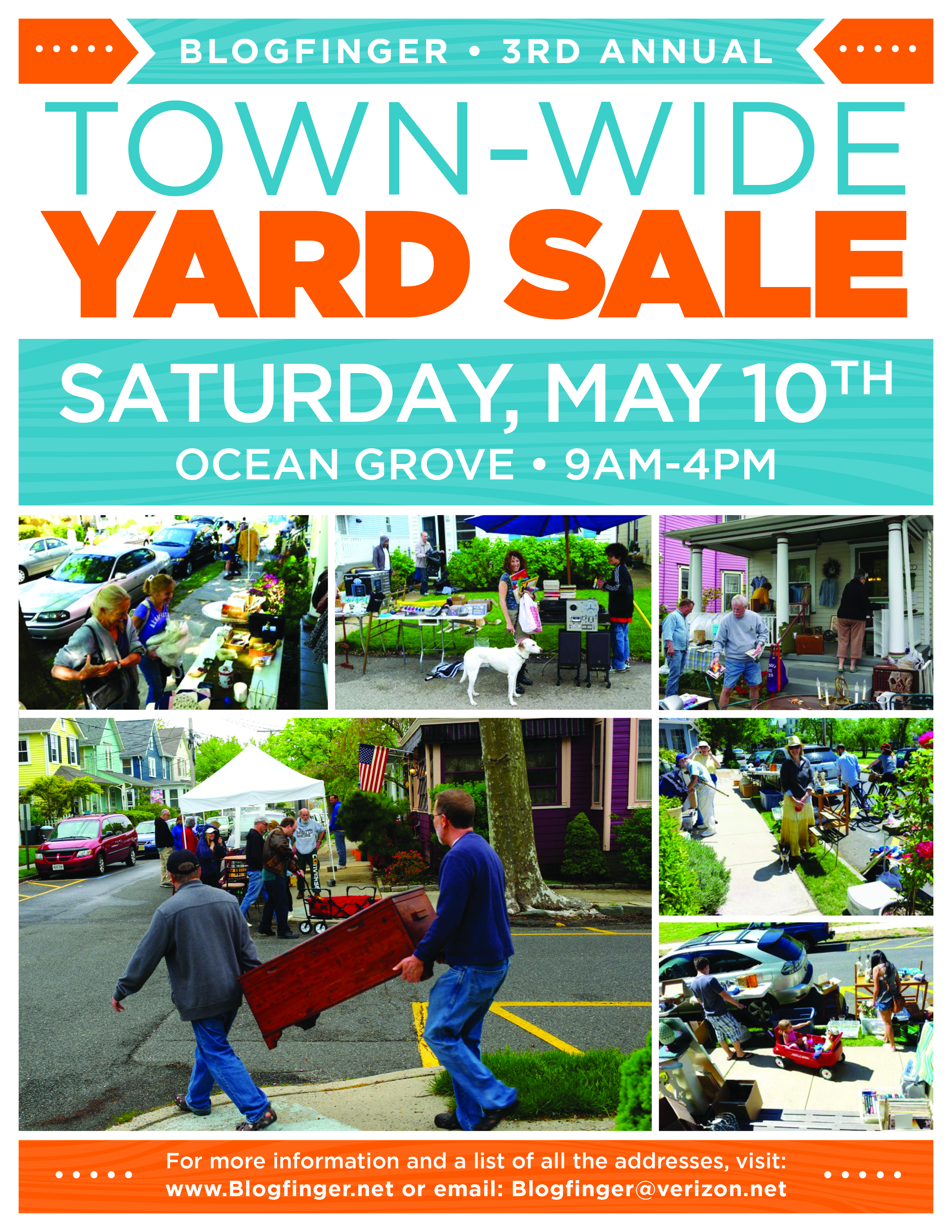 Come to the Ocean GRove town wide yard sale May 10 ...