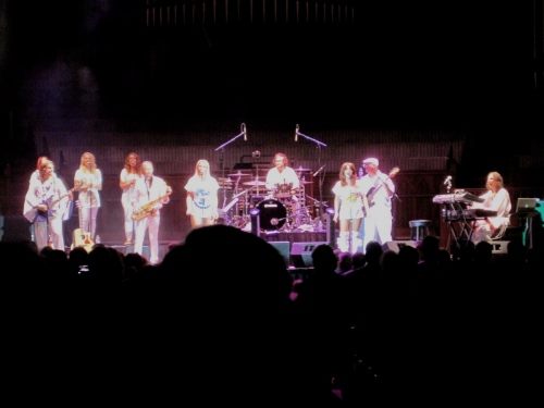 ABBA  in the Great Auditorium.  By Rich Amole, Blogfinger reporter and historian. ©