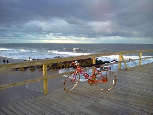 Schwinn bike in Ocean Grove. By Patience M. Osborn Chalmers of Spring Lake. ©
