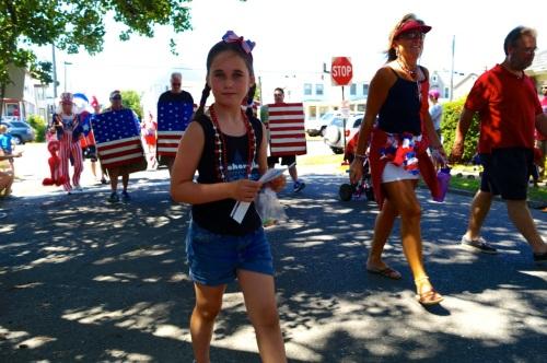 A pretty patriot  Blogfinger photo ©