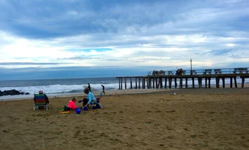 Ocean Grove Fishing Pier.  November 2013. Paul Goldfinger photo