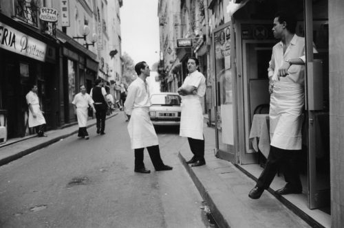 Paris. c. 1991.  Paul Goldfinger photo. ©  (You can see a vintage print of this hanging in the OG Cheese Shop)  ©