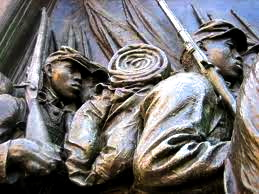 Honoring the men of the 54th Massachusetts
