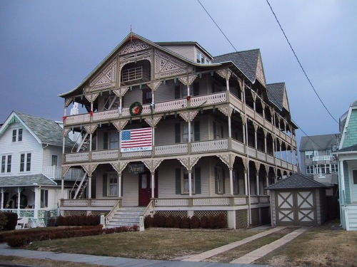 This is the Aurora which went from a hotel to a single family residence. That was in keeping with the future of Ocean Grove. Blogfinger file photo.