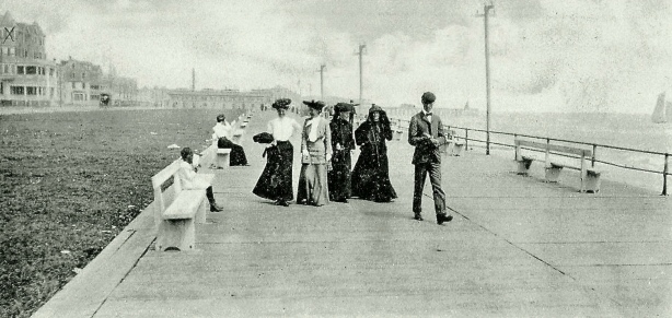1905 Ocean Grove. Submitted by Rich Amole, Blogfinger staff. Source: Ebay