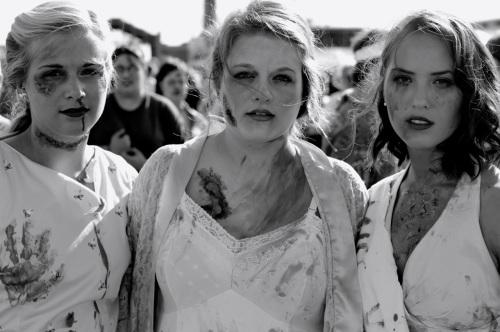 Zombie Walk #7. Asbury Park. Paul Goldfinger photograph. © @Blogfinger