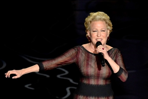 Bette MIdler. A recent photo by Kevin Winter from Getty Images. ©