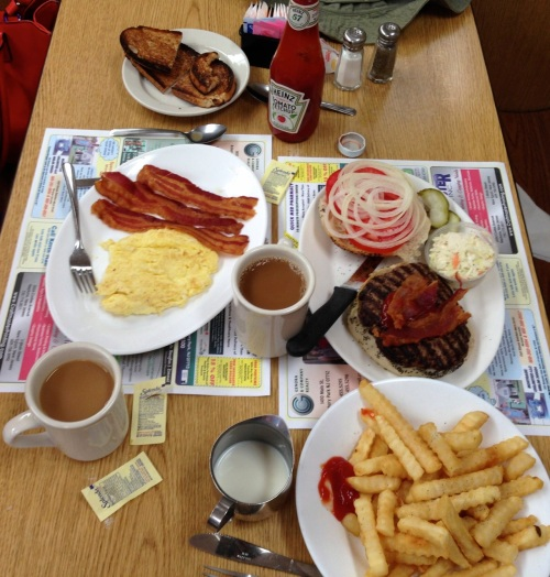 Everything at Franks is fresh and made-to-order.  BF photo