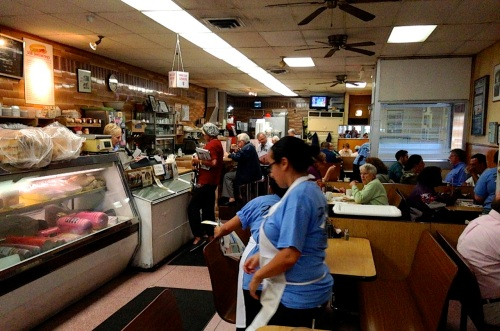Frank's Deli. Late morning in October. All photos by Paul Goldfinger ©