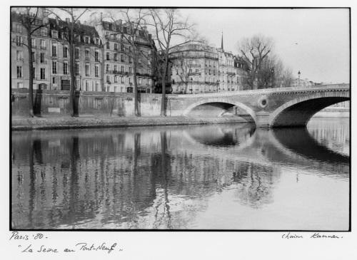 Paris, 1980. By Chaim Kanner. ©