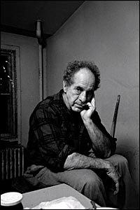 Robert Frank c 2009, New York City.