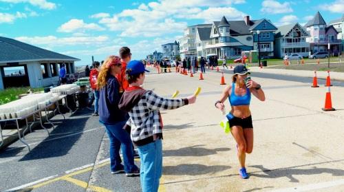 New Jersey Marathon in Ocean Grove. April, 2014. Paul Goldfinger photo ©