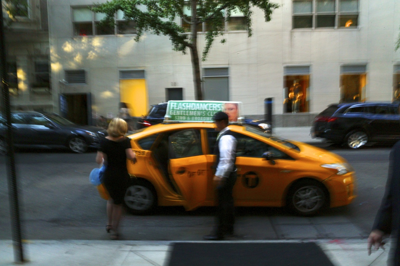 Upper East Side. August, 2014. NYC Street Series by Paul Goldfinger ©