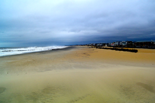 South end beach in Ocean Grove after Dec. 9 2014 nor'easter.  Paul Goldfinger photo
