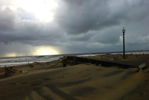 Tuesday, October 30, 2012, the day after Sandy hit. By Paul Goldfinger. ©