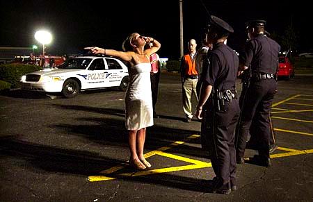Checkpoint photo from Venango County, Pennsylvania.