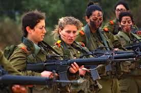 IDF women.    Internet photo