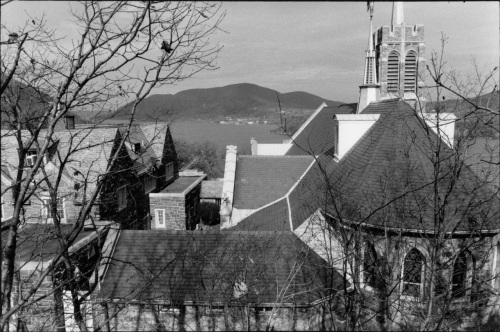 West Point, New York, along the Hudson River. By Paul Goldfinger. c. 1999. ©