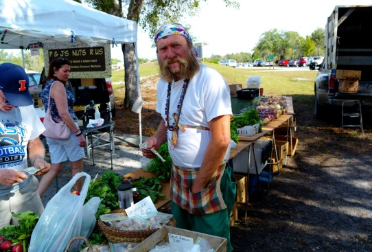Lakes Parks Farmers' Market.  Ft. Myers, Fla.  Jan. 2015.  By Paul Goldfinger ©