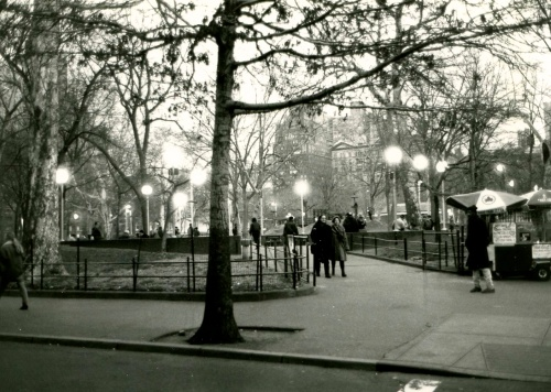 Central Park. c. 2002. By Paul Goldfinger © NYC Street Series