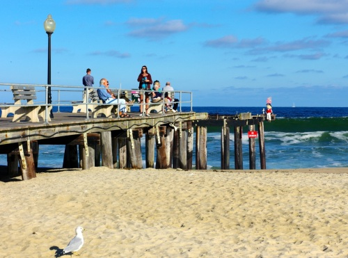 Ocean Grove Fishing Pier, Oct. 2014. Paul Goldfinger photo. Click to enlarge. ©