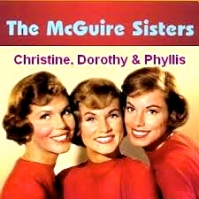 I liked Phyllis the best.  Phyllis is in the middle, was the prettiest, and she sang melody.  --PG