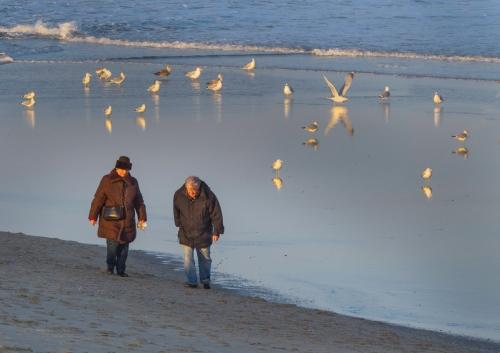 Ocean Grove beach. Feb. 243, 2015. By Bob Bowné. Special to Blogfinger. ©