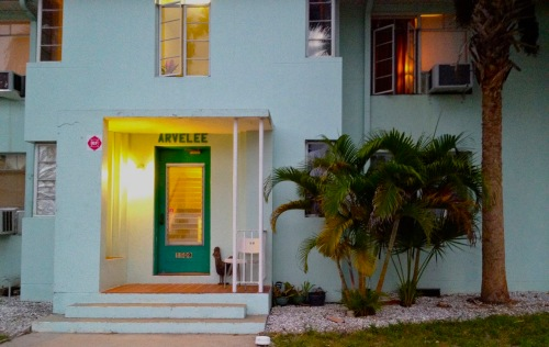 Arvelee. Old Ft. Myers downtown, across from the river. Paul Goldfinger photo. 2012