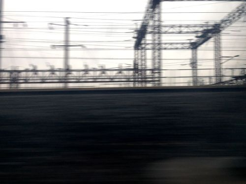 NJ Transit. December, 2014 © By Paul Goldfinger